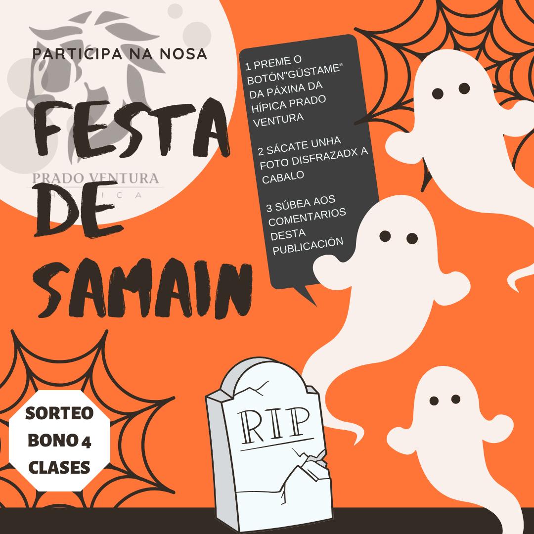 FESTA SAMAÍN 2019 - SORTEO BONO 4 CLASES